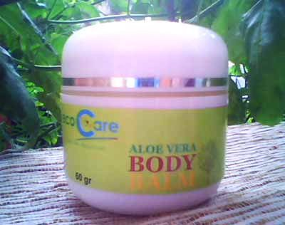 balm aloe vera BODY OIL DARI LEMON DAN GREEN TEA ANTI OKSIDAN TUBUH