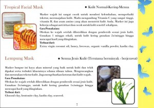 tropical facial mask dan lempung mask
