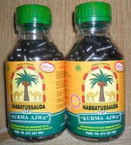 habbatussauda kurma ajwa murah 271x300 MANFAAT SARI KURMA MENINGKATKAN TROMBOSIT HEMOGLOBIN STAMINA  ANTIOKSIDAN