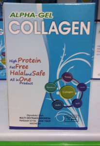 SERBUK KOLAGEN ALPHA GEL COLLAGEN