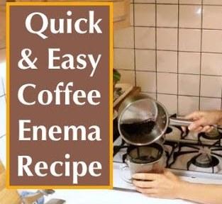 cara membuat larutan kopi enema dan melakukan enema
